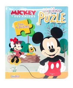 mi libro puzzle mickey