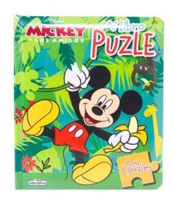 mi libro puzzle mickey y sus amigos