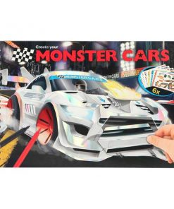 Cuaderno Monster Car Top model