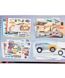 Cuaderno Monster Car Top model 1