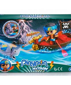 pinyon action barco pirata