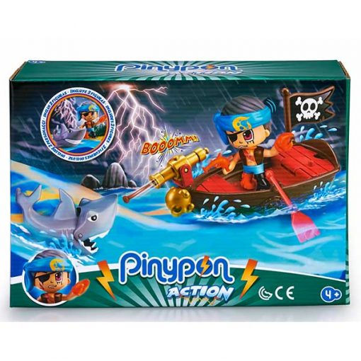 pinyon action barco pirata