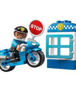 lego duplo moto policia