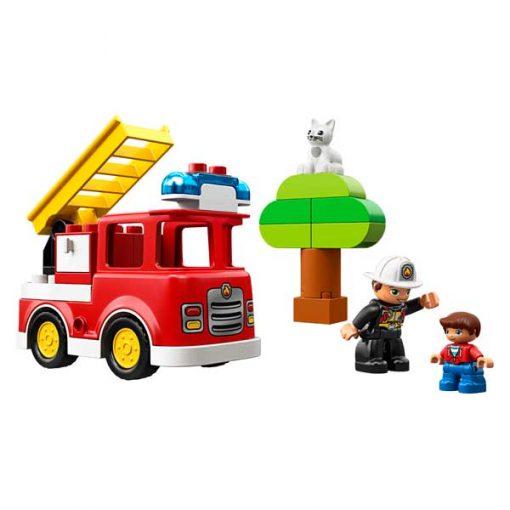 lego duplo camion bomberos