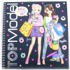 top model sticker book