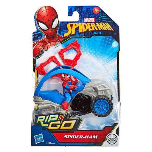 figura-spidercerdo-con-vehiculo-spiderman-marvel