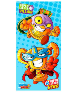 Hero y villain superzings toalla
