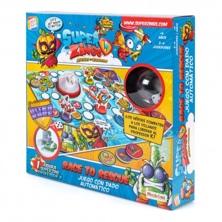 superzings-juego-de-mesa-profesor-k-race-to-rescue