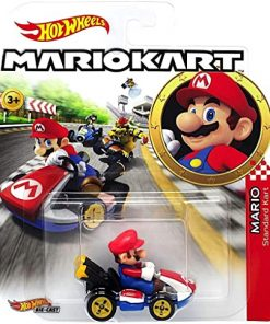 coche-hot wheels-mario-kart-
