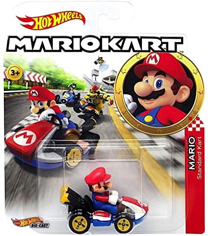 coche-hot wheels-mario-kart-
